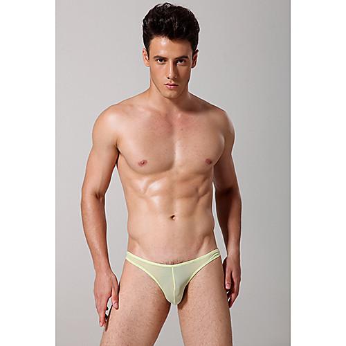 Мужская сексуальное нижнее белье Llow талии трусы Translucent нижнее белье Lightinthebox 195.000