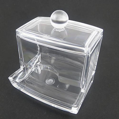 акриловая прозрачная ящик в форме тампон Box косметика ящик хранения косметических организатор Lightinthebox 300.000