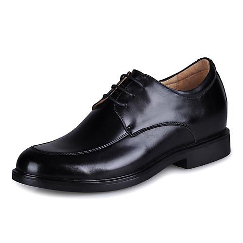 кожа мужчин низкий каблук комфорт оксфорды обувь лифт Lightinthebox 3437.000