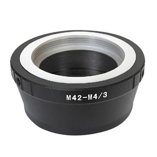 EMOLUX Pro M42 объектив Micro 4/3 адаптер E-P3 E-PL2 E-P2 E-PL1 E-P1 G1 G2 GF2 GH2 G3 GF3 Lightinthebox 427.000