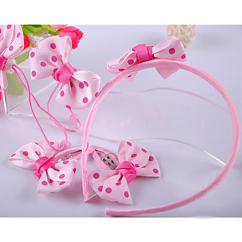 Lovely Лук Набор аксессуаров для девочек (повязка и связи волос и клипы) Lightinthebox 212.000