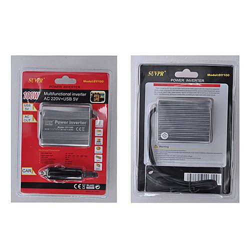 Инвертор с USB 100W DC 12V в переменное 220V Модифицированная синусоида Lightinthebox 558.000