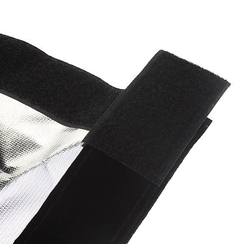 Универсальный складной тубус для камеры (черный  серебро) Lightinthebox 300.000