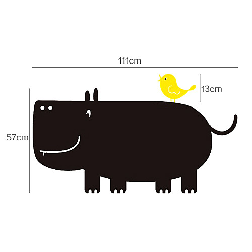 Доска стикер стены, съемный, жир Hippo Lightinthebox 858.000