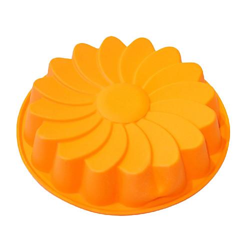 Большой Дейзи Форма торт для пирога, силикон (цвет RANDOMS) Lightinthebox 386.000