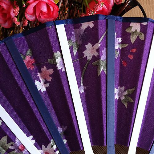 Цветочные Полипропилен Волокно вентилятор руки - Набор 4 (случайный цвет) Lightinthebox 412.000