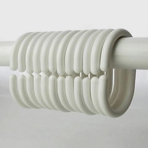 Душ занавес крючки, Высокая Современная Класс Белый Овал Форма (12 шт) Lightinthebox 687.000