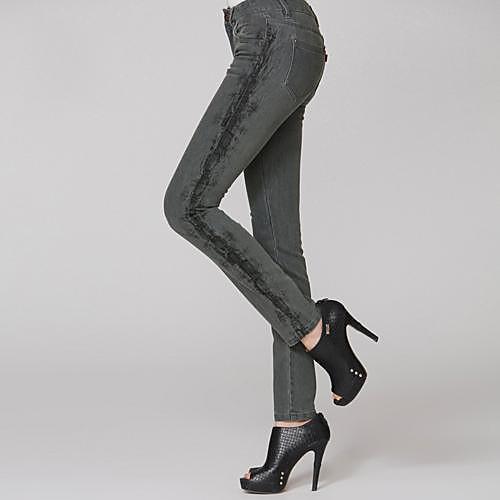 Женская Новый Карандаш Эластичный Skim Длинные джинсы Lightinthebox 1284.000