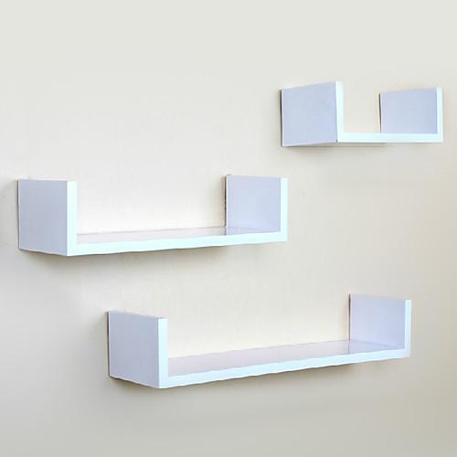 Современная углеродного волокна белый Творческий Висячие полкой для хранения (1 шт) Lightinthebox 1159.000