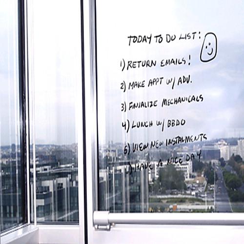 Blackboard стикеры стены, Творческий Прозрачный, съемный Примечание, DIY Lightinthebox 858.000