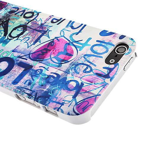 Каракули из Футляр Любовь Pattern ПК для iPhone 5/5S Lightinthebox 214.000