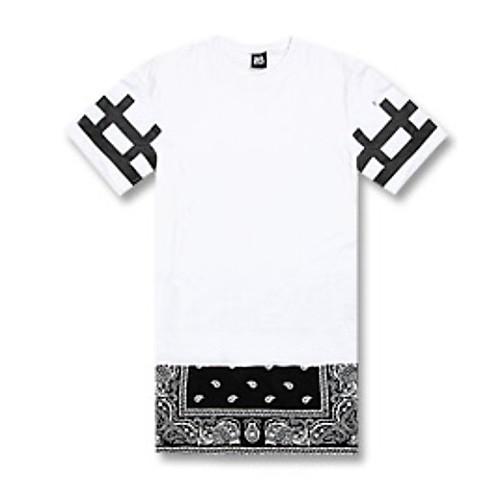 Мужская хип-хоп молнии с длинным футболка Lightinthebox 1116.000
