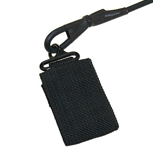 Черный Выдвижной искусственная кожа Сейф Рюкзак ремень Lightinthebox 257.000