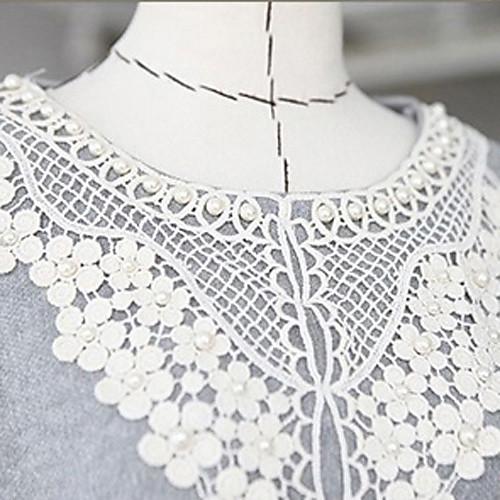 С длинным рукавом кружевной воротник платья материнства в Lightinthebox 949.000