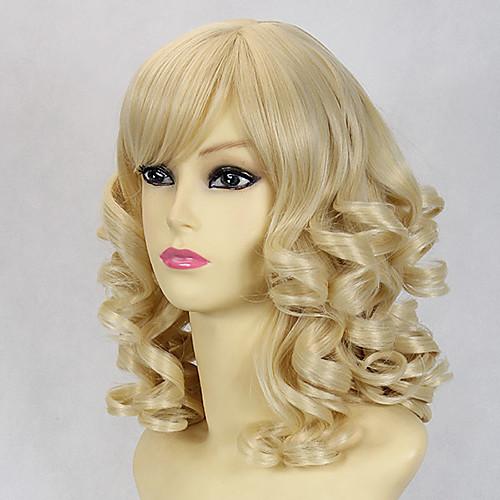 Блондинка Надувной Кудри 45см Классическая Лолита парик Lightinthebox 1288.000