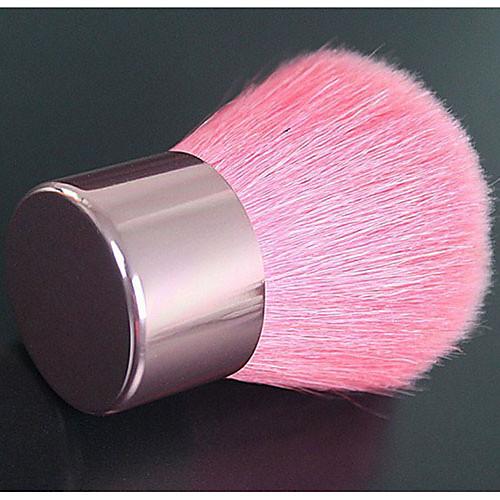 Высокое качество натурального козьего волос Розовый макияж Румяна / порошок Кабуки кисть Lightinthebox 300.000