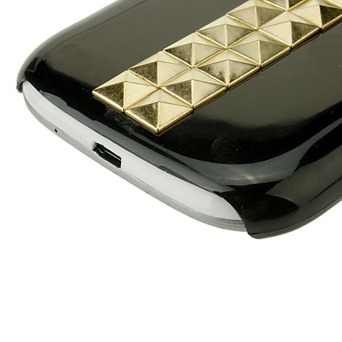 Крест заклепки Защитный чехол для Samsung Galaxy S3/i9300 сотовый телефон (черный) Lightinthebox 171.000