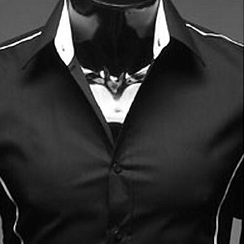Slim Fit Досуг рубашка Lightinthebox 858.000