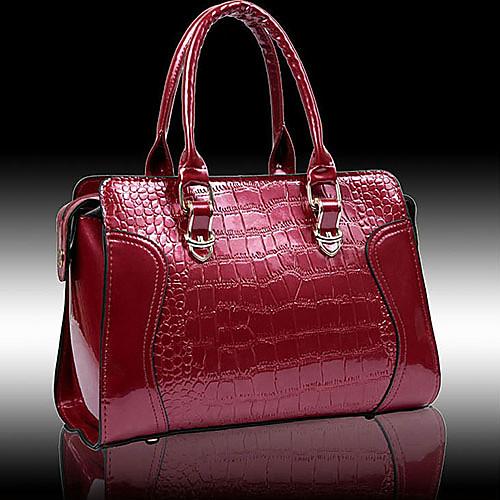 Мода патент искусственная кожа Банкетный Женские Сумки Подкладка цвет на Random Lightinthebox 2105.000