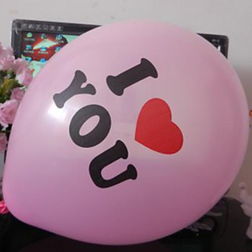 50 шт Я тебя люблю Карнавал украшения шар (случайный цвет) Lightinthebox 644.000