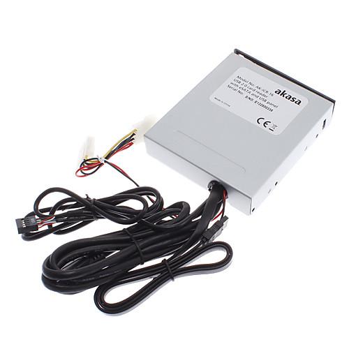 АК-ICR-16 USB 2.0 Card Reader с ESATA и USB панель Lightinthebox 1030.000