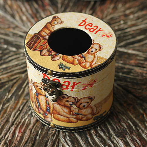 Ретро Медведь Tissue Box Lightinthebox 1073.000