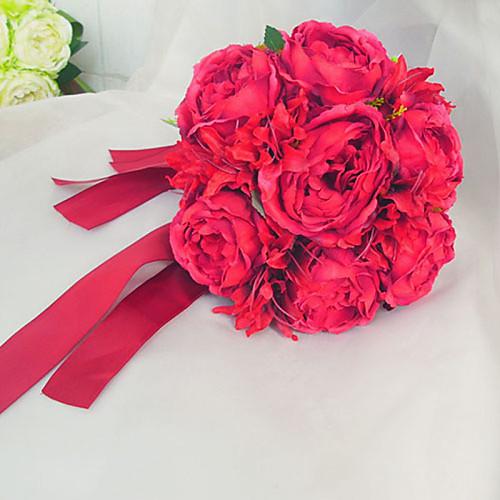 Круглая Форма Свадьба / Партия букет невесты (больше цветов) Lightinthebox 1073.000