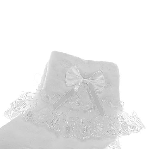 Девушки Белое кружево носки Lightinthebox 128.000