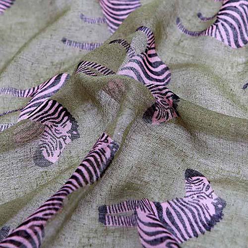 мода полиэстер животное напечатанный шарф Lightinthebox 300.000