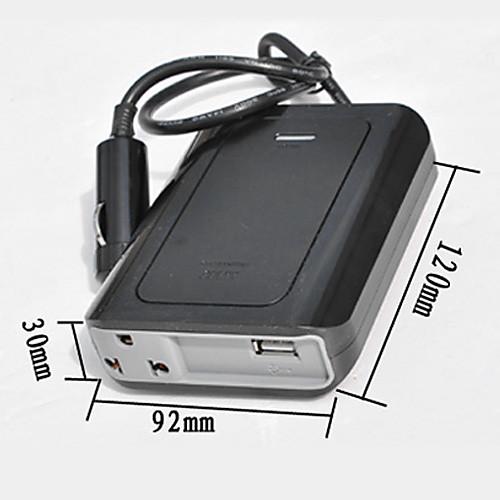 Инвертор с USB 200W DC 12V в переменное 220V Модифицированная синусоида Lightinthebox 730.000