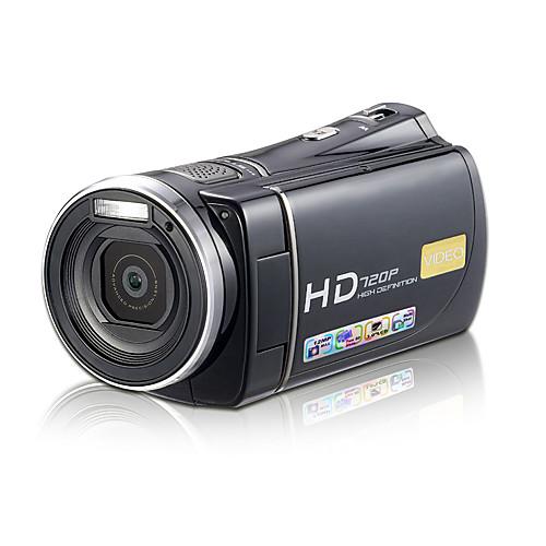 1280  720p 5.0MP HD DV видеокамеры (обнаружение движения, 12,0 МП усиливается, 5 х зум-объектив)