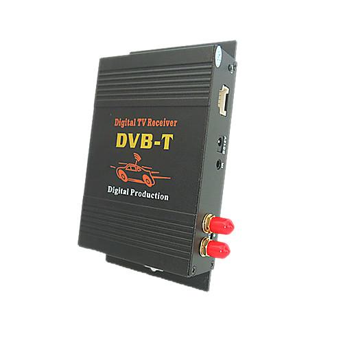 ED011-M618 DVB-T MPEG-4/MPEG-2 МОБИЛЬНЫЕ HD Автомобильный цифровой ТВ-ресивер двойным тюнером Lightinthebox 4296.000