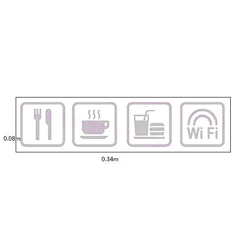 Классический Strore Маркировка иконы окна Стикеры Lightinthebox 515.000