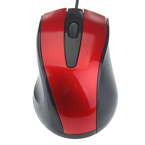 Удобный USB Проводная оптическая мышь (разных цветов) Lightinthebox 128.000