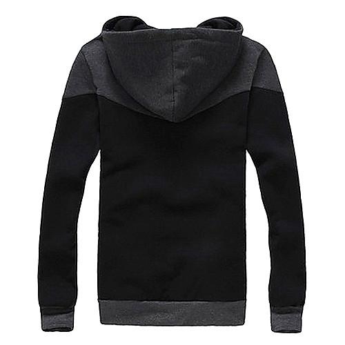 Модные мужские Двухместный капюшоном руно Lightinthebox 1245.000