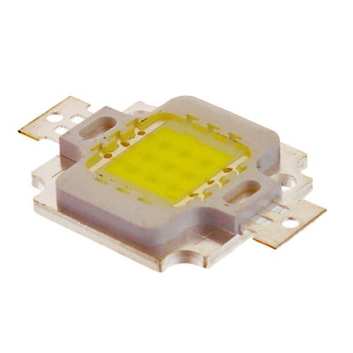 10W Интеграция 800-900LM 6000K холодный белый свет светодиодный чип (10-12V)