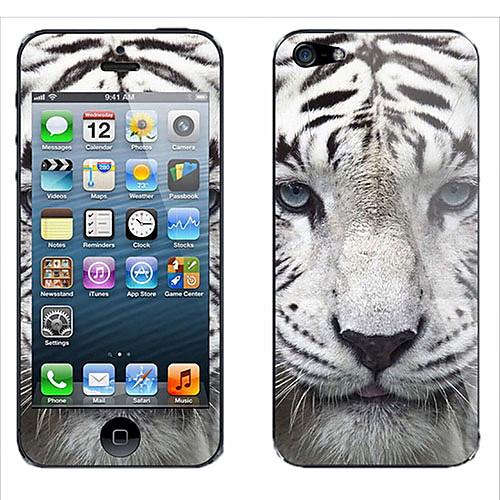 Мода специальный шаблон Цвет Сияющий Защитная пленка Придерживайтесь самостоятельно задняя сторона обложки случая для iPhone4/4S Lightinthebox 128.000