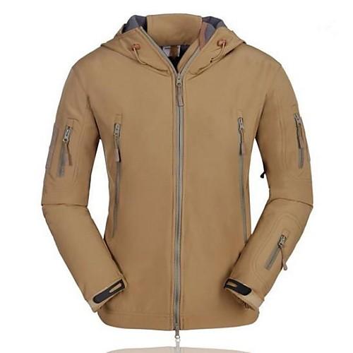 мужской водонепроницаемый мягкая оболочка походы куртка Lightinthebox 2148.000