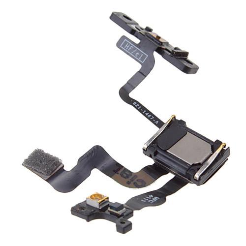 Кнопка питания датчик близости гибкие части кабеля для IPhone 4S Lightinthebox 171.000