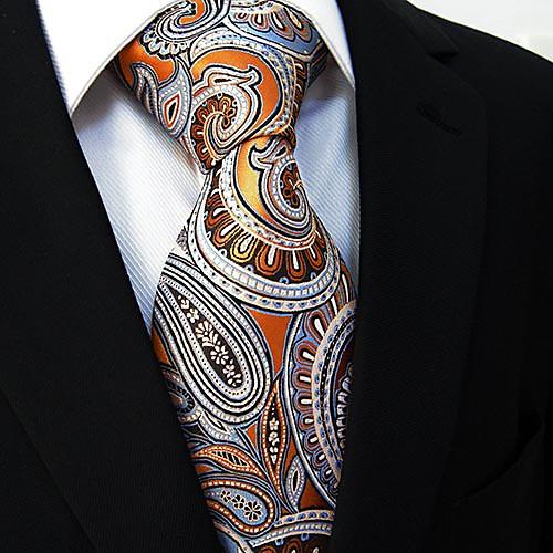 Мужская повседневная цветочным принтом галстук