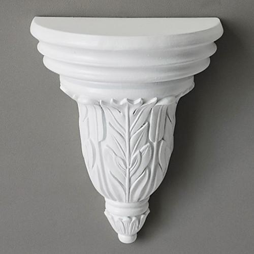 Античный Белый европейский Пластиковые Висячие Полка с Ботаническим Pattern Lightinthebox 1675.000