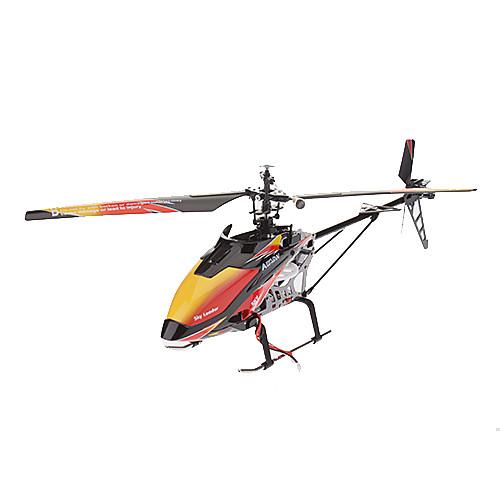 WLtoys V913 4CH одним лезвием 2,4 ЖК пульт дистанционного управления вертолетом (оранжевый) Lightinthebox 4124.000