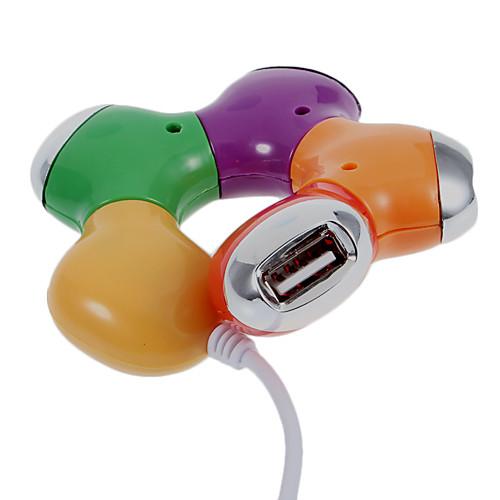 4-портовый Универсальная последовательная шина USB-концентратор Lightinthebox 85.000