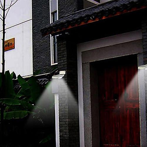 Открытый солнечной энергии 16 светодиодных датчик движения Детектор Охрана Сад света Лампы (СНГ-57238) Lightinthebox 2148.000