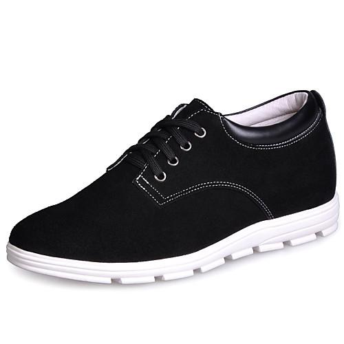 кожа мужчин низкий каблук комфорт моды кроссовки обувь лифт (больше цветов) Lightinthebox 2577.000