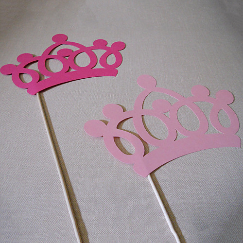 Корона Photo Booth Принадлежит свадьба / партии (2 шт) Lightinthebox 70.000