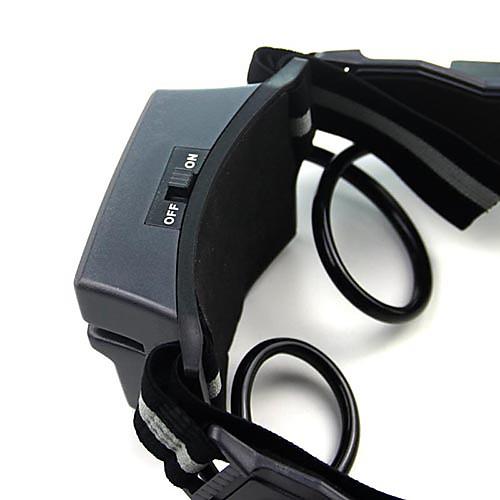 Очки ночного видения С Флип выезда синяя светодиодная подсветка Lightinthebox 558.000