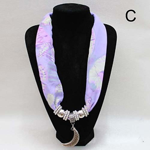 металлические подвесные шифоновый шарф для леди (12 шт разные цвета смешиваются на продажу) Lightinthebox 257.000