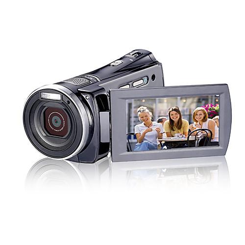 1280  720p 5.0MP HD DV видеокамеры (обнаружение движения, 12,0 МП усиливается, 5 х зум-объектив) Lightinthebox 7734.000