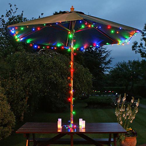 22M солнечной энергии 200 LED Многоцветный Фея Строка свет лампы Xmas партия Свадьба Декор сада (СНГ-57205) Lightinthebox 2148.000